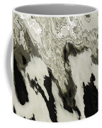 Black And White Abstract I Coffee Mug