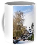 Black And White Church  Melverley Coffee Mug