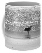 Black And White Gull Coffee Mug