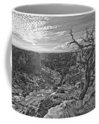Black And White Image Of Tree Coffee Mug