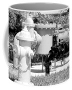 Black And White Mechanics Coffee Mug