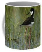 Black And White Stilt Coffee Mug