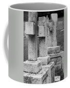 Black And Whtie Corsses Coffee Mug