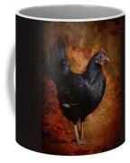 Black Bantam Chicken Coffee Mug