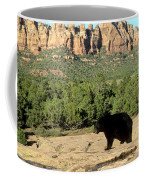 Black Bear In Utah Coffee Mug