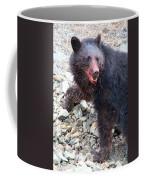 Black Bear Bloodied Lunch Coffee Mug