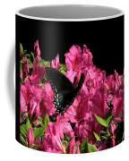 Black Beauty In Flight Coffee Mug