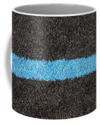 Black Blue Lawn Coffee Mug