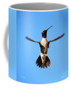 Black-chinned Hummingbird Flying Coffee Mug