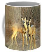 Black Ear Deer Coffee Mug