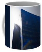 Black Glass Coffee Mug