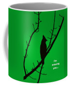 Black  On Green Coffee Mug