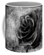 Black Rose Eternal  Bw Coffee Mug