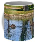 Black Swan's In Palm Springs Coffee Mug