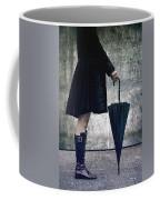 Black Umbrellla Coffee Mug by Joana Kruse