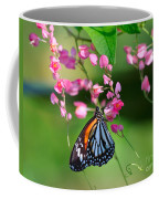 Black Veined Tiger Butterfly Coffee Mug