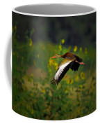 Blackbellied Whistling Duck In Flight Coffee Mug
