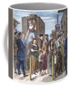 Blackwells Island, 1868 Coffee Mug