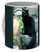 Blacky Cat Coffee Mug