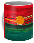 Blazing Red Sky Coffee Mug