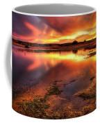Blazing Sky Coffee Mug by Carlos Caetano