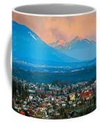 Bled City And Breg. Slovenia Coffee Mug