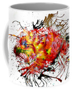 Bleeding Petals  Coffee Mug