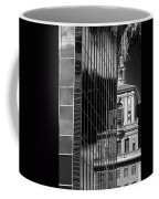 Blending Architecture Black And White Coffee Mug
