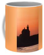 Block Island North West Lighthouse Sunset Coffee Mug
