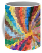 Blocks Of Color From A Pen And Ink Drawing Coffee Mug