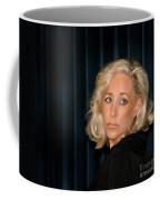Blond Woman Sad Coffee Mug