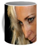 Blond Woman Strict Coffee Mug