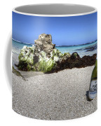 Blonde On The Beach  Coffee Mug