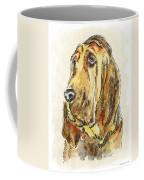 Bloodhound-watercolor Coffee Mug