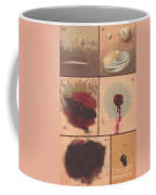 Bloodstain, Blisters, Bullet Holes, 1864 Coffee Mug by Science Source