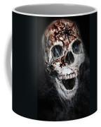 Bloody Skull Coffee Mug by Joana Kruse