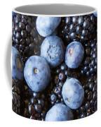 Blue And Black Berries Coffee Mug