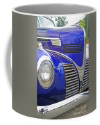 Blue And Chrome Nose Coffee Mug