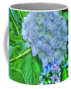 Blue And Green Flora Coffee Mug