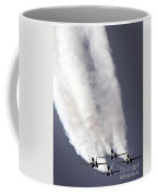 Blue Angels Fa-18c Hornet Aerial Coffee Mug by Stocktrek Images
