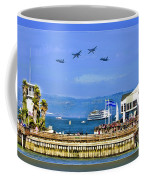 Blue Angels San Francisco Wharf Coffee Mug