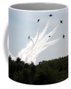 Blue Angels Star Burst Coffee Mug