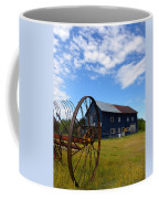 Blue Barn Coffee Mug