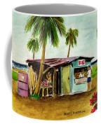 Blue Beach Shack Los Pinones Puerto Rico Coffee Mug