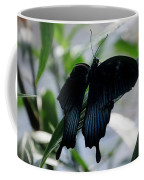 Blue-black Butterfly Coffee Mug