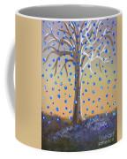 Blue-blossomed Wishing Tree Coffee Mug