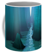 Blue Canyon River Coffee Mug
