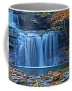 Blue Cascade Falls Coffee Mug