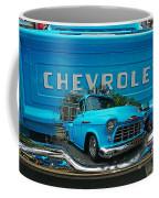 Blue Chevy Pickup Dbl. Exposure Coffee Mug