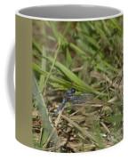 Blue Corporal Dragonfly Coffee Mug